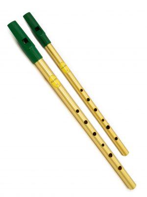 Tin Whistle – Flauta Irlandesa | Pack Brass C + D | Feadóg