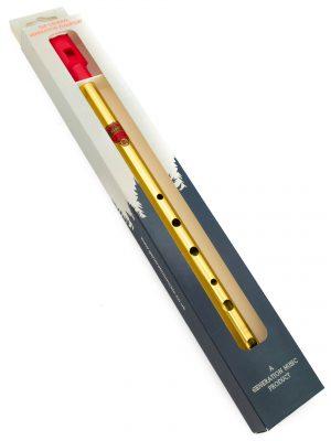 Tin Whistle – Flauta Celta   Brass Bb (Sib)   Generation