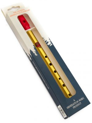 Tin Whistle – Flauta Celta | Brass F (Fa) | Generation
